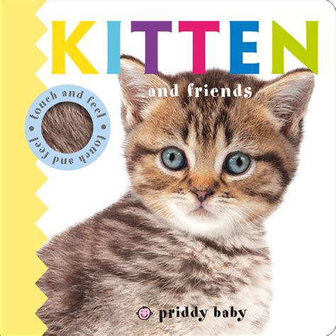 My Own Kitten Touch And Feel Board Book Buku Impor Anak kitten and friends touch and feel roger priddy macmillan