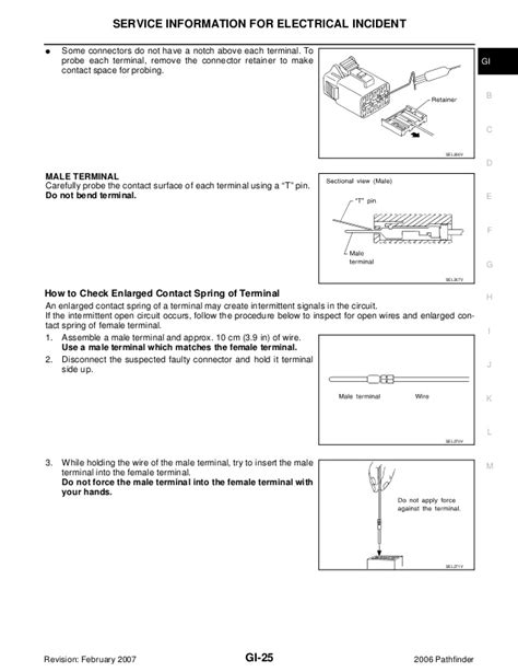service and repair manuals 2006 nissan pathfinder interior lighting 2006 nissan pathfinder service repair manual