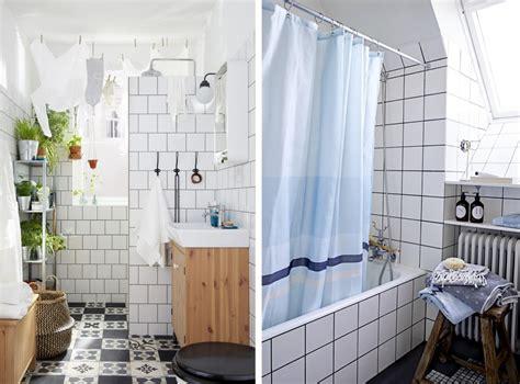 Supérieur Decoration Interieur Noir Blanc Gris #4: tendance-deco-salle-de-bains-carrelage-blanc-joint-noir-gris-3.jpg