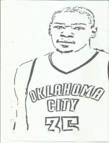 okc nba kevin durant coloring pages coloring pages - Kevin Durant Shoes Coloring Pages