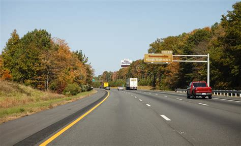 Virginia Mba Units by Interstate Highway 95 In Virginia Editorial Image Image