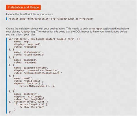 tutorial javascript checkbox javascript is checkbox validation with validate js