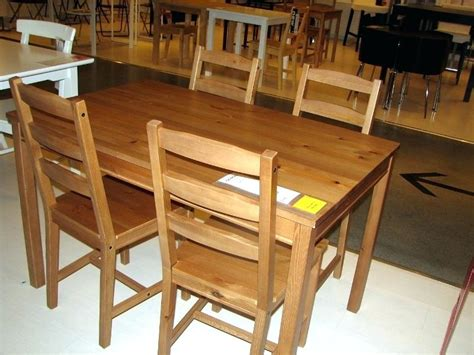 ikea wood dining table ikea furniture kitchen tables furniture designs