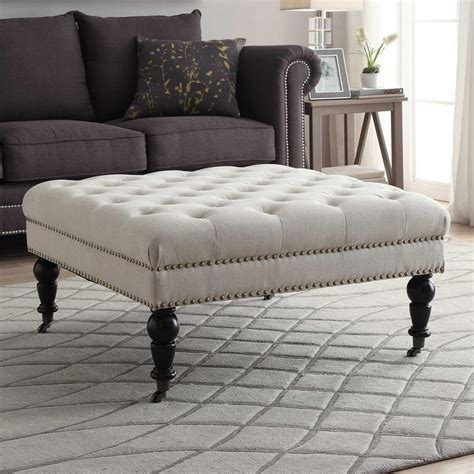 large square ottoman coffee table ideas