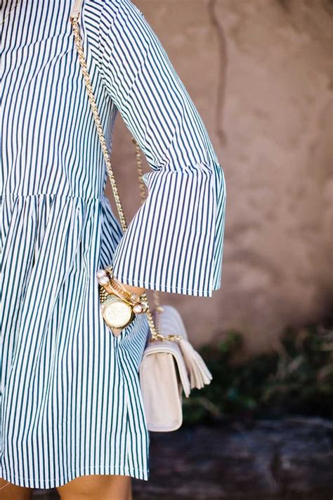 Sleeve Striped Dress 25 best ideas about white dress casual on