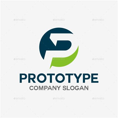 logos template p letter logo template by soponyono graphicriver