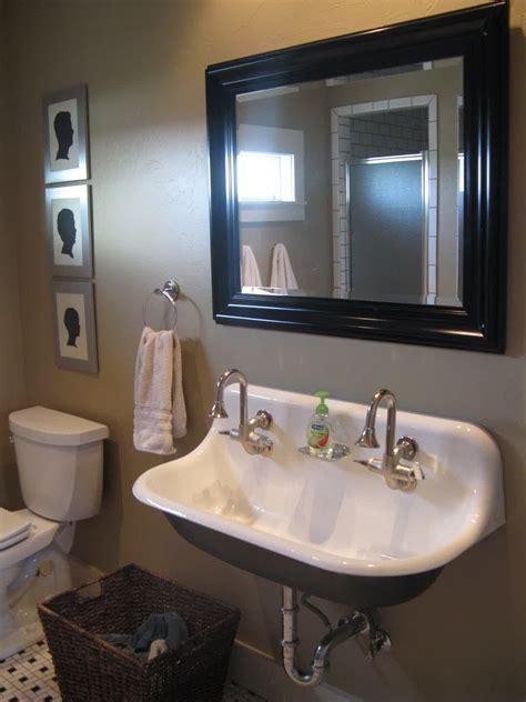 faucet trough sink kohler trough sink for bathroom homesfeed