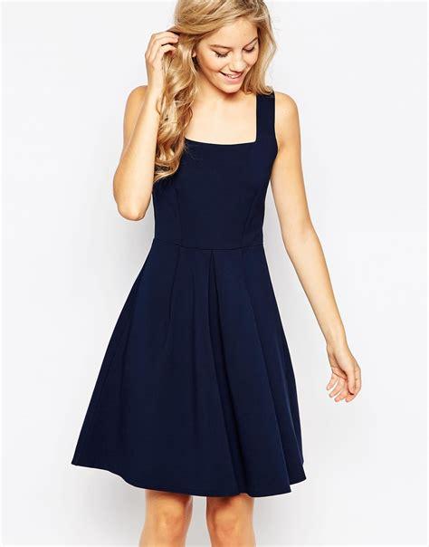 Usquare Dress neck pleats dress other dresses dressesss
