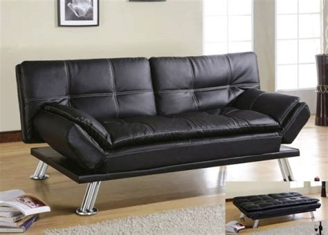 amazing best sleeper sofa 5 black leather futon