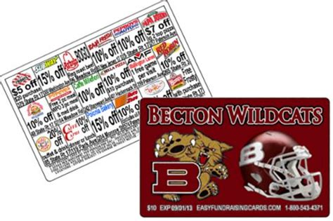 Gift Card Fundraising Program - 12 best images about discount card fundraisers on pinterest football high school