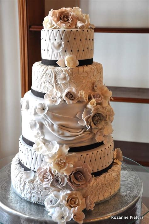 New Style Wedding Cakes by Rozanne S Cakes Style Wedding Cake