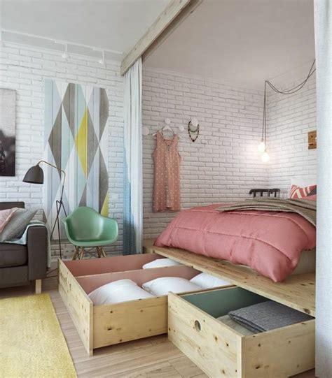 kleines schlafzimmer einrichten die besten 17 ideen zu 1 zimmer wohnung auf