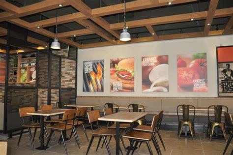 International Concepts Kitchen Island burger king launches new interior designs design week