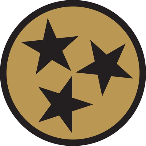 Sticker 3d Wallpaper Dinding Circle Ring 5pcs tennessee flag circle 6758 vizualize