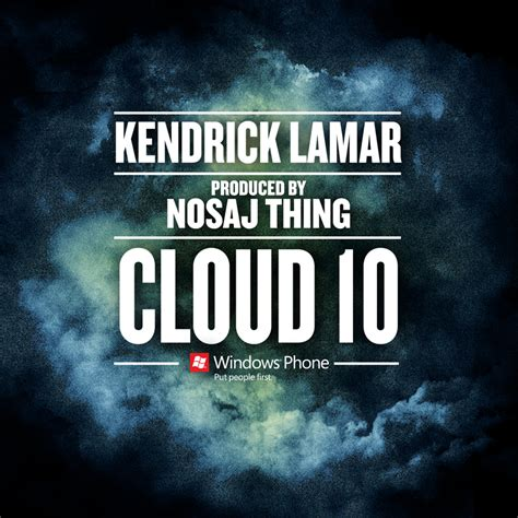 Kendrick Lamar Cloud 10 Hiphop N More
