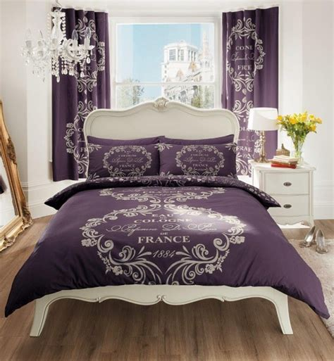 Aubergine Bedding Sets Duvet Cover With Pillow Quilt Cover Bedding Set Aubergine