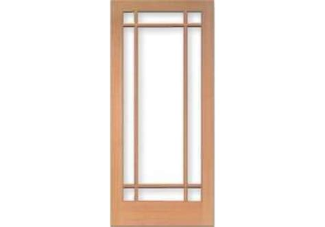 9 Lite Door by Tm1509 Vertical Grain Douglas Fir Door 9 Lite