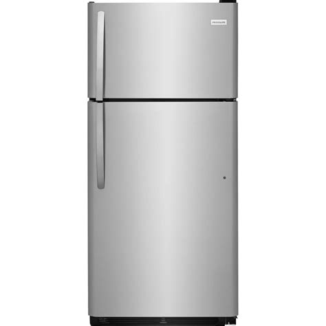 Best Kitchen Faucets Reviews Frigidaire 18 Cu Ft Top Freezer Refrigerator In
