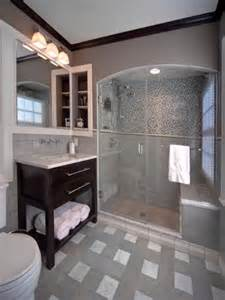 Gray Bathroom Tile Ideas by 28 Grey And White Bathroom Tile Ideas And Pictures