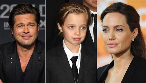 Brad Pitt And Shiloh The Most Beautiful Picture by Shiloh Pitt Is Devastated By And Brad