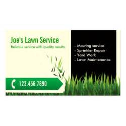 business cards for lawn care professional mowing lawn care business card
