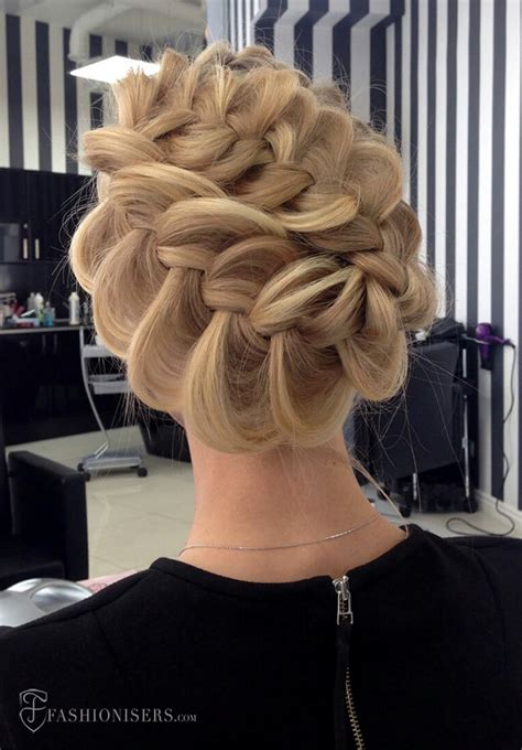 Pretty Hairstyles For Prom by Pretty Braided Hairstyles For Prom Fashionisers