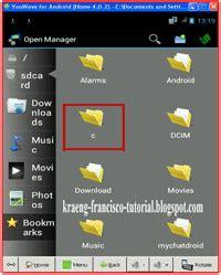 tutorial menggunakan youwave android tutorial terbaru cara memasukkan foto atau gambar ke
