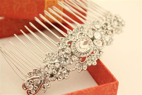 Vintage Wedding Hair Jewellery by Wedding Hair Comb Vintage Wedding Hair Jewelry Wedding