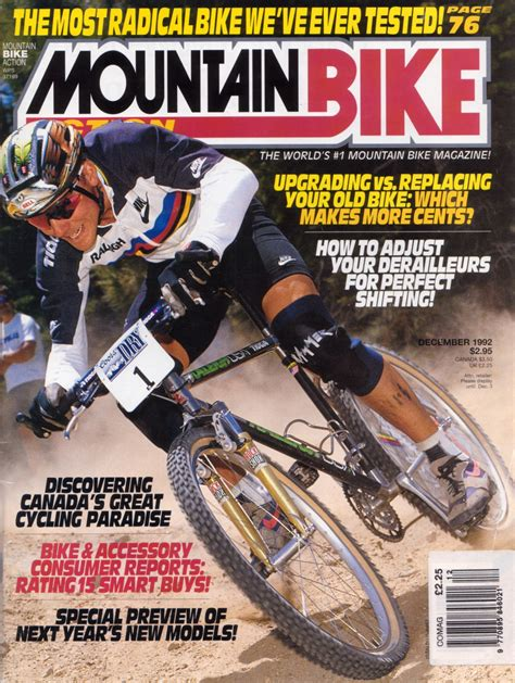 Mba Bike Magazine by Cover Mba December 1992 Covers Retrobike