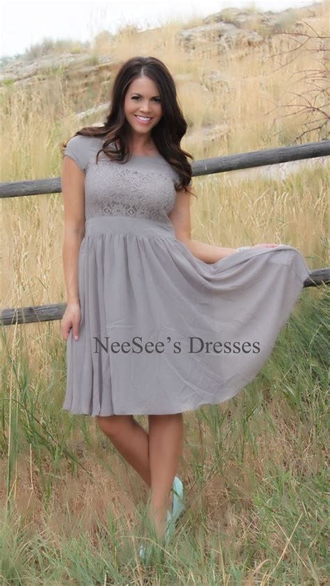 light gray by mikarose modest church dresses
