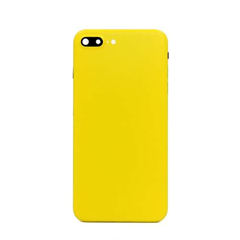 iphone 7 plus matte yellow color housing