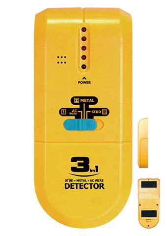 All Sun 3 In 1 Metal Detector Led Wood Stud Finder Ac Wire Tracker all sun ts73 3 in 1 detector