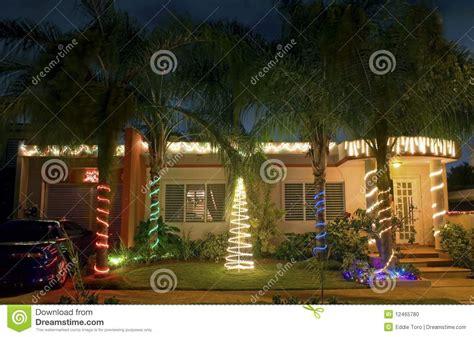 imagenes de navidad en pr casa de la navidad en puerto rico foto de archivo imagen