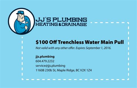 Jj Plumbing by Trenchless Water Replacement Jj S Plumbing Maple Ridge Bc
