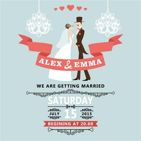 poster design vector file romantic wedding poster design vector material free