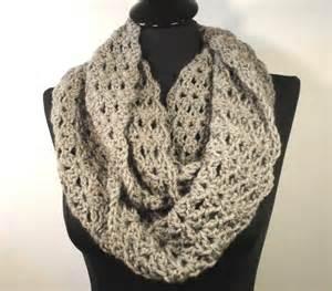 Infinity Scarf Crochet Pattern Flirty Crochet Infinity Scarf By Dvillamaino Craftsy