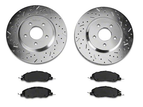 ceramic rotors for mustang review xtreme stop mustang precision cross drilled slotted