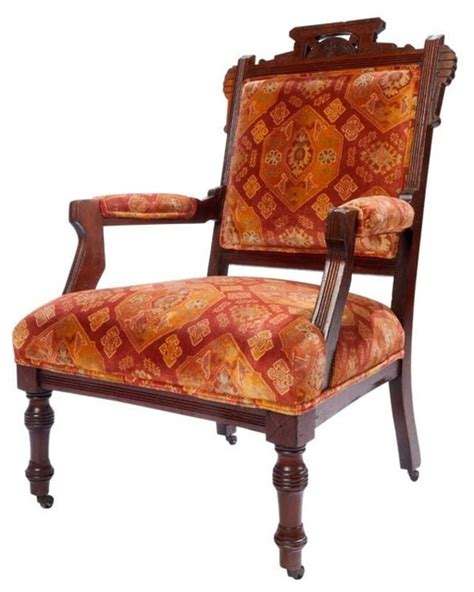 eastlake arm chair traditional armchairs and accent