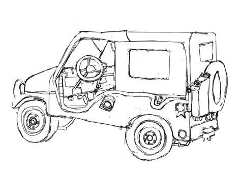jeep liberty coloring pages jeep coloring pages car coloring pages cool cars 17