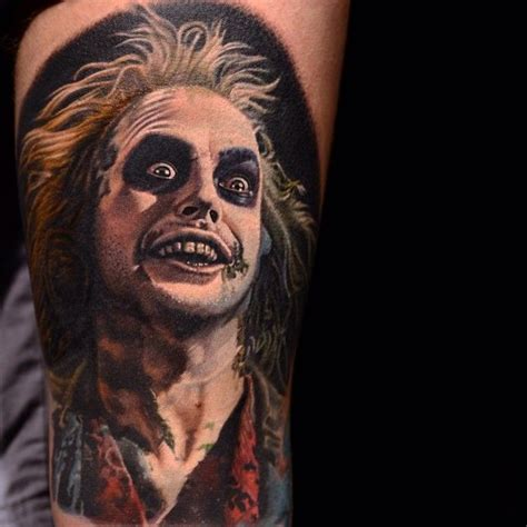 beetlejuice by nikko hurtado inked doll