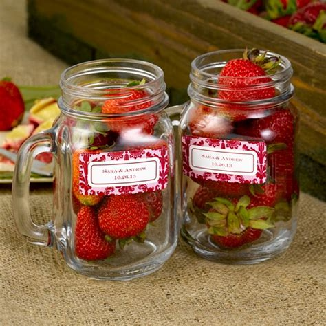 Mason Jar Wedding Giveaways - mason jar wedding favors 19