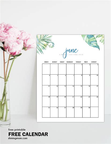 free calendar design html free printable june 2017 calendar 12 awesome designs