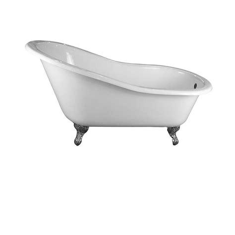 ball and claw bathtub pegasus 5 ft cast iron ball and claw feet slipper tub in