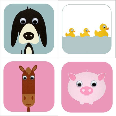 Animal Gift Card - farmyard animal cards by stripeycats notonthehighstreet com