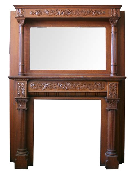 Ori Mantel carved oak mantel for sale antiques classifieds