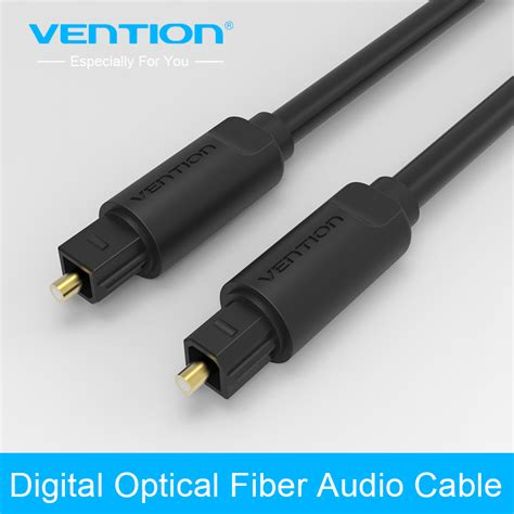 Toslink Optical Digital Cable Gold Connector 2m Ls402 1 vention digital optical audio cable toslink gold plated 1m 2m 3m spdif coaxial cable for