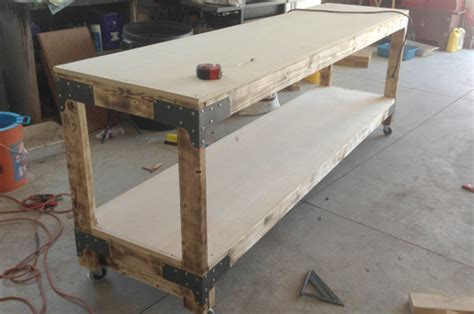heavy duty work bench plans how to build a heavy duty workbench one project closer