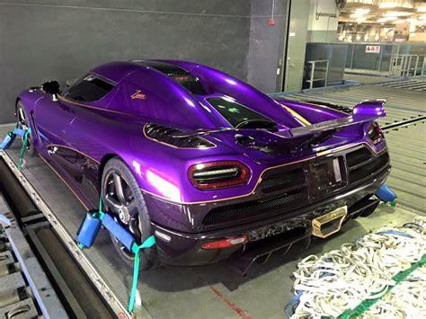 koenigsegg purple purple koenigsegg agera r zijin arrives in shanghai gtspirit