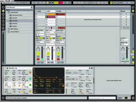 ableton tutorial kick drum ableton live operator electronic kick drum tutorial youtube