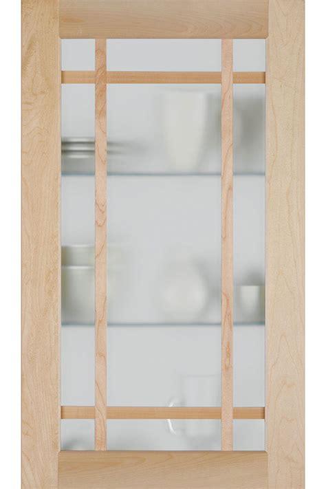 Shaker Mullion Door with Frost Glass   Homecrest